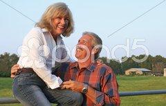 Sharing A Joke Stock Photos