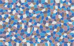 Mosaic Pattern Stock Illustration