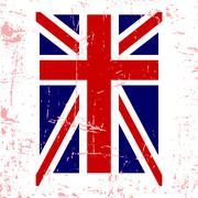 British flag t shirt typography graphics Stock Illustration