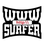 WWW surfer t shirt graphics Stock Illustration