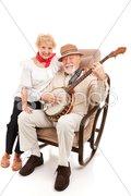 Country Music Seniors Stock Photos