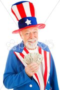 Rich Uncle Sam Kuvituskuvat