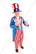 Uncle Sam - Economic Recovery Stock Photos