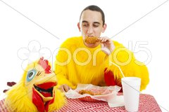 Fast Food Diet Stock Photos