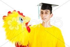 Job for a Graduate Stock Photos