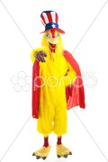 Uncle Chicken Wants You Stock Photos