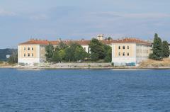 Abandoned Naval Base in Pula, Croatia Front Stock Photos
