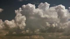 Cumulus clouds Stock Footage