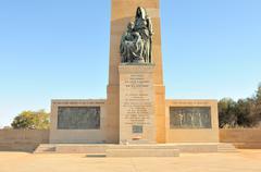 The Women's Memorial in Bloemfontein, South Africa Stock Photos