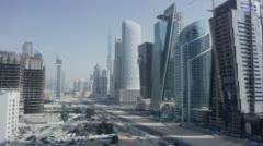 Dubai: Construction and Dust Stock Footage