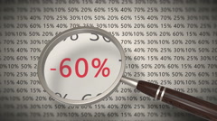 Magnifying glass looking for the best discount Stock Footage
