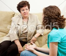 Compassionate Counselor Stock Photos