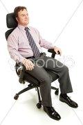 Ergonomic Executive Chair Stock Photos