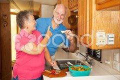 Seniors RV - Hungry Hubby Stock Photos