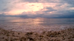 Gili Sunset Stock Footage