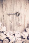 Finding key to success Stock Photos