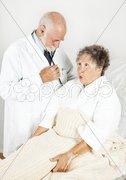 Medical Exam in Hospital Stock Photos