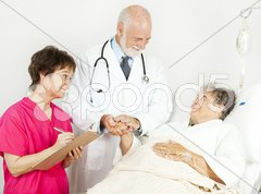 Hospital - Patient Care Stock Photos