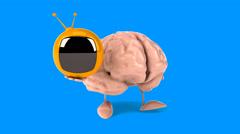 Brain - Computer animation Stock Footage