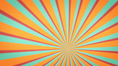 Retro animation psychedelic background Stock Footage