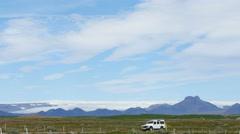 Langjokull glacier, Iceland, 4k Stock Footage