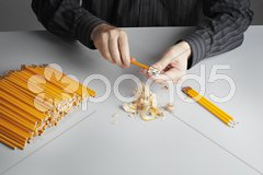 Boring work Stock Photos