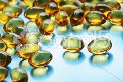 Fish oil pills Kuvituskuvat