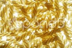Pasta Fusilli Stock Photos