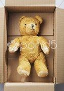 Teddybear transport Stock Photos