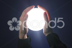 Glowing sphere Stock Photos
