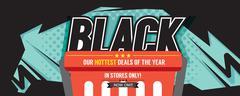 Colorful Black Friday Sale Marketing Promotion Banner Vector Illustration Stock Illustration