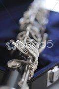 Old Clarinet Stock Photos