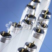 Fluorescent tubes Stock Photos