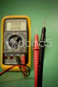 Digital multimeter probes Stock Photos