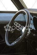 70s Steering Wheel Stock Photos