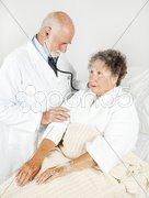 Thorough Medical Examination Stock Photos