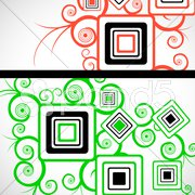 Abstract floral background Stock Illustration