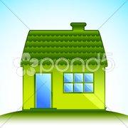 Cottage Stock Illustration