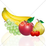 Fruits Stock Illustration