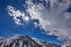 Mountainscape in Salt Lake City, USA Kuvituskuvat