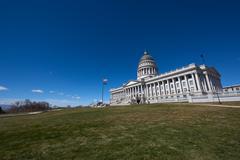 Utah State House, Salt Lake City, USA Stock Photos