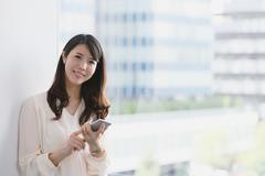 Japanese businesswoman Stock Photos