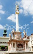 Masaryk Square, Znojmo, Czech Republic Stock Photos