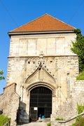 Sigismund ''s Gate, Castle of Bratislava, Slovakia Stock Photos