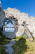 Ruins of Cachtice Castle, Slovakia Stock Photos