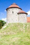 Rotunda of Saint Catherine, Znojmo, Czech Republic Stock Photos
