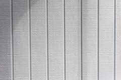 Vertical wooden siding with pattern Stock Photos