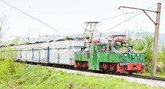 Electric freight train, Kolubara, Serbia Kuvituskuvat