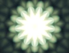 Abstract light Kaleidoscope,Texture background,Bokeh lighting, psychedelic ar Stock Illustration