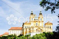 Convent Melk, Lower Austria, Austria Stock Photos